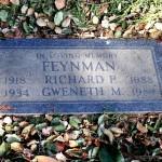 Feynman grave